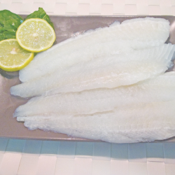 Filetes de halibut sin piel...