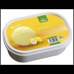 Helado para sorbete de limón