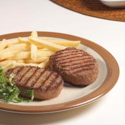 Mini hamburguesa de cerdo y...