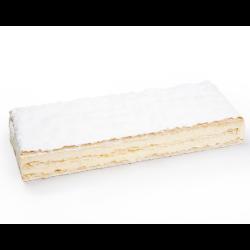 Tarta de milhojas con crema