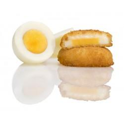 Huevo con bechamel