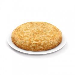 Tortilla de patata sin cebolla