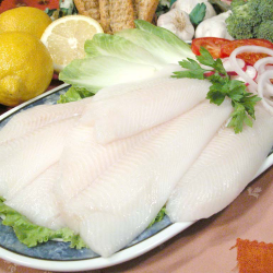 Filetes de lenguado-halibut...