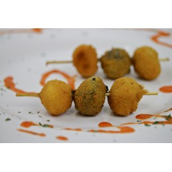 Brochetas de fritos