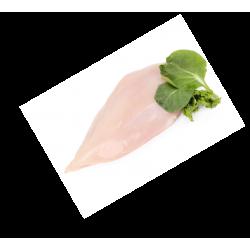 Pechuga de pollo fileteada