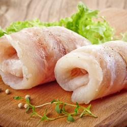 Filetes de merluza sin piel