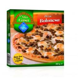 Pizza boloñesa al horno de...
